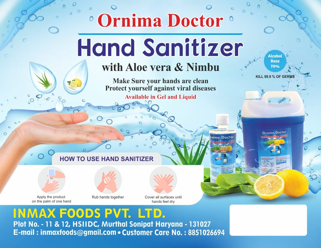 Ornima Doctor Hand Sanitizer